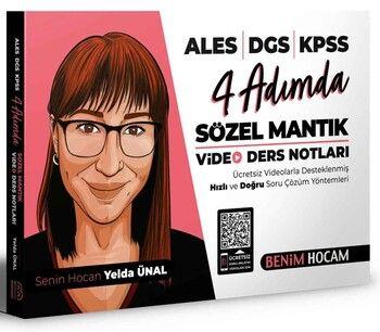 Benim Hocam Yayınları KPSS ALES DGS 4 Adımda Sözel Mantık Video Ders Notları