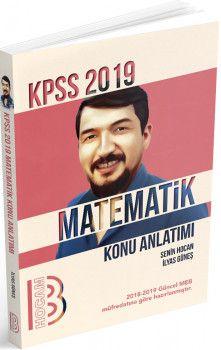 Benim Hocam Yayınları 2019 KPSS Matematik Konu Anlatımı