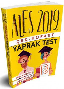 Benim Hocam Yayınları 2019 ALES Çek Kopart Yaprak Test