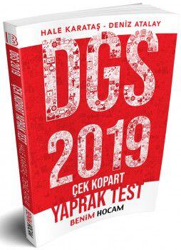 Benim Hocam Yayınları 2019 DGS Çek Kopart Yaprak Test