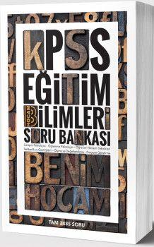 Benim Hocam Yayınları KPSS Eğitim Bilimleri Soru Bankası