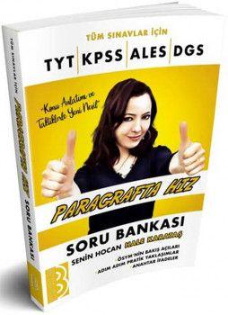 Benim Hocam Yayınları Tüm Sınavlar İçin Paragrafta Hız Soru Bankası