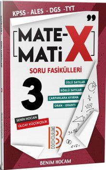 Benim Hocam Yayınları KPSS ALES DGS TYT Matematix Soru Fasikülleri 3