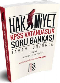 Benim Hocam Yayınları KPSS Vatandaşlık Hakimiyet Tamamı Çözümlü Soru Bankası