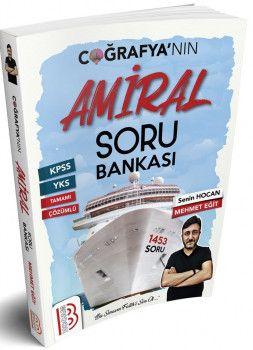 Benim Hocam Yayınları KPSS Coğrafyanın Amiral Soru Bankası