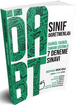 Benim Hocam Yayınları ÖABT Sınıf Öğretmenliği Tamamı Çözümlü 7 Deneme Sınavı