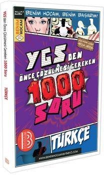 Benim Hocam YGS den Önce Çözülmesi Gereken 1000 Soru Türkçe