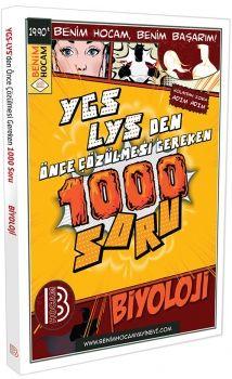 Benim Hocam YGS LYS den Önce Çözülmesi Gereken 1000 Soru Biyoloji