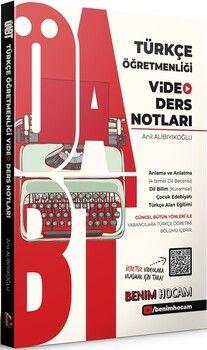Benim Hocam2021 ÖABT Türkçe Öğretmenliği Video Ders Notları