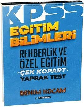 Benim Hocam2021 Eğitim Bilimleri Rehberlik ve Özel Eğitim Çek Kopart Yaprak Test