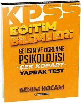 Benim Hocam2021 Eğitim Bilimleri Gelişim ve Öğrenme Psikolojisi Çek Kopart Yaprak Test