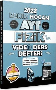 Benim Hocam2022 AYT Fizik Video Ders Defteri