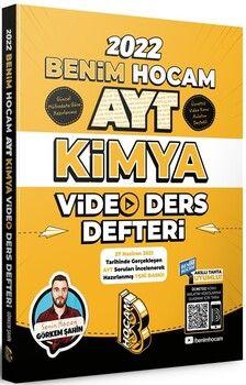 Benim Hocam2022 AYT Kimya Video Ders Defteri