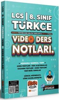Benim Hocam2022 LGS 8.Sınıf Türkçe Video Ders Notları ve Konu Anlatımı