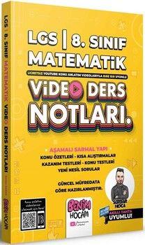 Benim Hocam2022 LGS 8.Sınıf Matematik Video Ders Notları ve Konu Anlatımı
