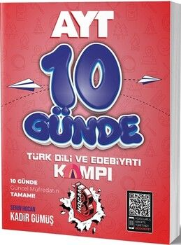 Benim HocamAYT Türkdili ve Edebiyatı 10 Günde Kamp Defteri