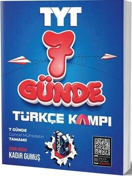 Benim HocamTYT Türkçe 7 Günde Kamp Defteri