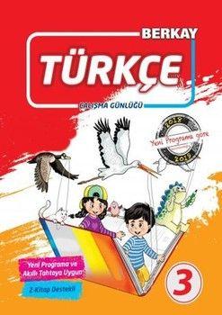 Berkay 3. Sınıf Türkçe Çalışma Günlüğü