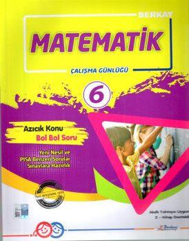 Berkay 6. Sınıf Matematik Çalışma Günlüğü