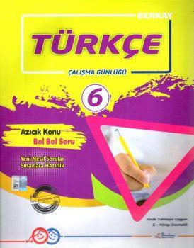 Berkay 6. Sınıf Türkçe Çalışma Günlüğü