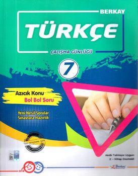 Berkay 7. Sınıf Türkçe Çalışma Günlüğü