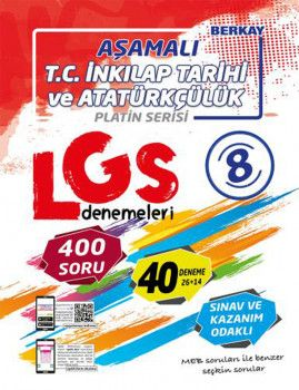 Berkay 8. Sınıf LGS T.C. İnkılap Tarihi ve Atatürkçülük Aşamalı Denemeleri