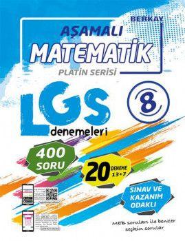 Berkay 8. Sınıf LGS Matematik Aşamalı Denemeleri