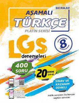 Berkay 8. Sınıf LGS Türkçe Aşamalı Denemeleri