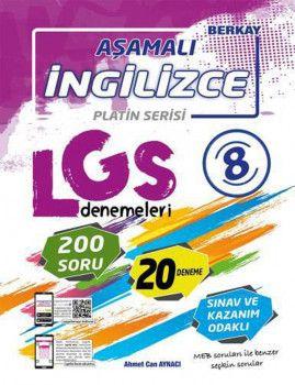 Berkay 8. Sınıf LGS İngilizce Aşamalı Denemeleri