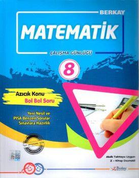 Berkay 8. Sınıf Matematik Çalışma Günlüğü