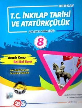 Berkay 8. Sınıf T.C. İnkılap Tarihi ve Atatürkçülük Çalışma Günlüğü