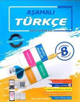 Berkay 8. Sınıf Türkçe Aşamalı Soru Bankası