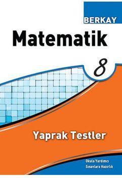 Berkay Yayıncılık 8. Sınıf Matematik Yaprak Testler