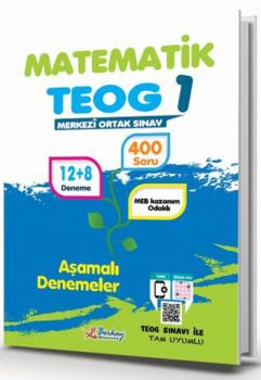 Berkay Yayıncılık 8. Sınıf TEOG 1 Matematik Aşamalı Denemeler