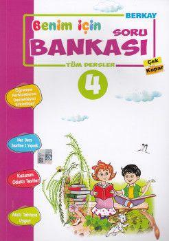 Berkay Yayıncılık 4. Sınıf Tüm Dersler Soru Bankası Çek Kopar