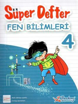 Berkay Yayınları 4. Sınıf Fen Bilimleri ve Sosyal Bilgiler Tersyüz Süper Defter