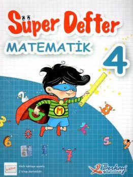 Berkay Yayınları 4. Sınıf Matematik Süper Defter