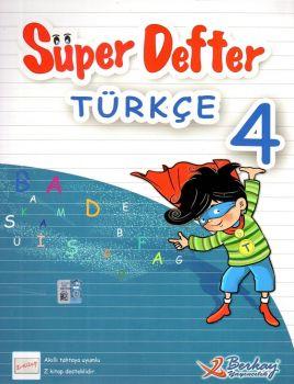 Berkay Yayınları 4. Sınıf Türkçe Süper Defter