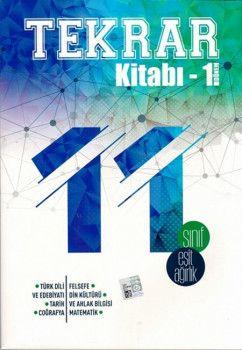 Bes yayınları 11. Sınıf Eşit Ağırlık 1. Dönem Tekrar Kitabı