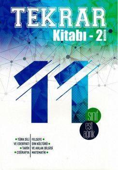 Bes Yayınları 11. Sınıf Eşit Ağırlık 2. Dönem Tekrar Kitabı