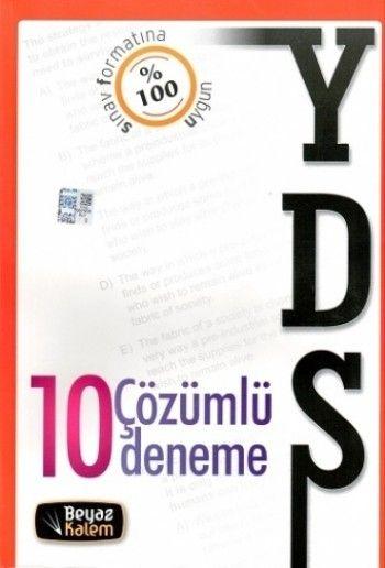 Beyaz Kalem 2015 YDS 10 Çözümlü Deneme Sınavı