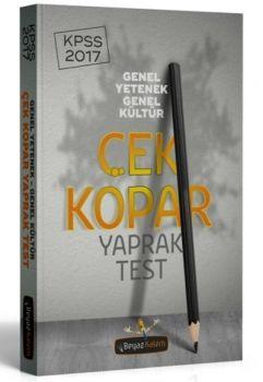 Beyaz Kalem 2017 KPSS Genel Yetenek Genel Kültür Çek Kopar Yaprak Test