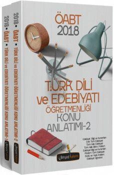 Beyaz Kalem 2018 ÖABT Türk Dili ve Edebiyatı Öğretmenliği Konu Anlatımı 2 Kitap