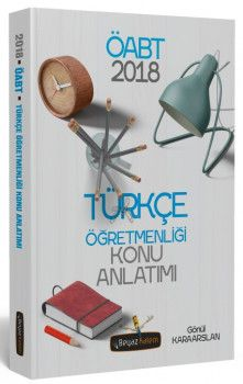 Beyaz Kalem 2018 ÖABT Türkçe Öğretmenliği Konu Anlatımı