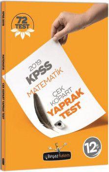 Beyaz Kalem 2019 KPSS Genel Yetenek Matematik Çek Kopar