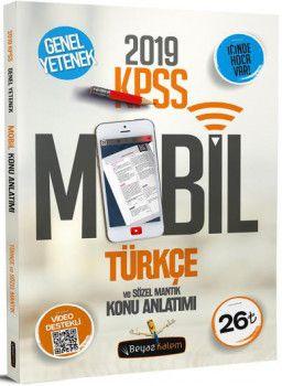 Beyaz Kalem 2019 KPSS Genel Yetenek Türkçe Sözel Mantık Konu Anlatımı