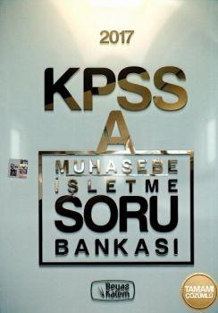 Beyaz Kalem KPSS A Muhasebe İşletme Soru Bankası