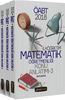 Beyaz Kalem Yayınları 2018 ÖABT İlköğretim Matematik Öğretmenliği Tamamı Çözümlü Soru Bankası
