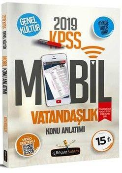Beyaz Kalem Yayınları 2019 KPSS Vatandaşlık Mobil Konu Anlatımı