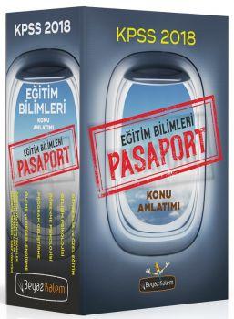 Beyaz Kalem Yayınları 2018 KPSS Eğitim Bilimleri Pasaport Konu Anlatımlı Set 6 Kitap